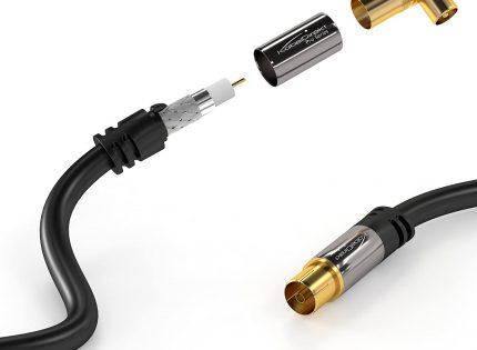 Quel câble coaxial pour TV?