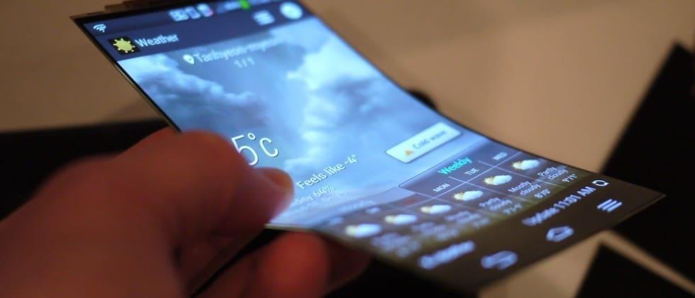 Smartphone avec écran Oled