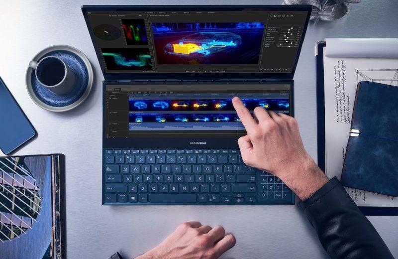 Asus ZenBook Duo : le premier PC portable à deux écrans